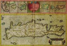 Gerardus MERCATOR / Jodocus HONDIUS - Candia cum Insulis aliquot circa Graeciam