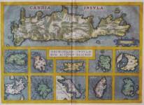 Abraham ORTELIUS - Insula, Archipelagi Insularum Aliquot Descrip