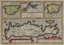 Abraham ORTELIUS - CRETA, Louis magni, medio iacet infula ponto