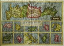 Abraham ORTELIUS - Candia Insula, Archipelagi Insularum Aliquot Descrip