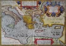 Abraham ORTELIUS - Aeneae Troiani Navigatio