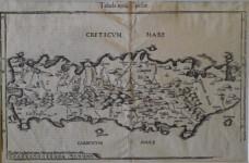 Abraham ORTELIUS - Tabular Nova Candiae