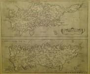 Abraham ORTELIUS - Cyprus Insula - Candia Olim Creta