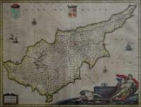 Jeann Janszoon BLAEU - Cyprus Insula