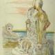 Giorgio De CHIRICO - L'amico consolatore (Oreste e Pilade)