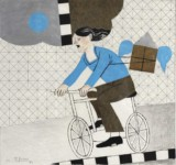 Stelios VOTSIS - The blue bicycle