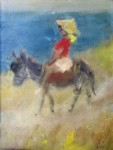 Michail DORIS (PAPAGEORGIOU) - Lady on Horse back