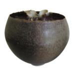 ΟDeirdre BURNETT - small ruffel pot, c.1985