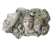 Bambos MICHLIS - Couple with sea shells