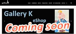 Gallery K online shop - soon online