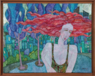 Marios Varelas - Red head woman