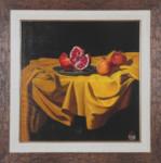 Angel Mihailov - Still life with pomegranates