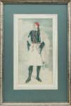 Nicolas Sperling - Greek in national costume