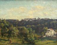Sir Herbert Hughes-Stanton - The valley, Corfu
