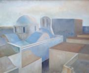 Zoe Zenghelis - Paros rooftops