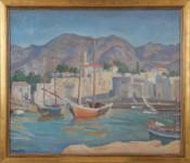 Ethelbert White - Kyrenia harbour