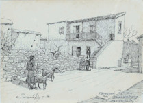 Victor Ioannides - Village scene