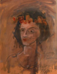 41.1 ANDREAS CHARALAMBIDES - Young woman with garland