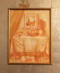 93 Theodore MANOLIDES - Interior with dog