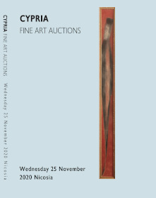 Cypria auctions - 16th December 2020 auction catalogue cover