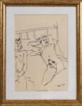 Andreas Karayan - Reclining nudes
