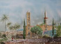 Martin Giesen - St. Anthony Church and Djami Djedid, Limassol, Cyprus