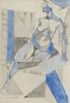 CHRISTOFOROS SAVVA - Blue Nude