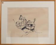 ADAMANTIOS DIAMANTIS - Vavylas, Kyrenia - with frame
