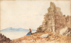William page - A Greek by the Coast with Ruins