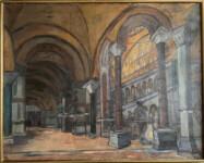 Penelope DIAMANTOPOULOU - GAVALA - Hagia Sophia interior, Constantinople