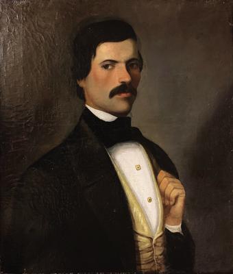 Andreas KRIEZIS - The portrait of Pantaleontas Costaki