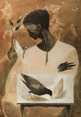 Christos CHRISTOU - Maiden with doves