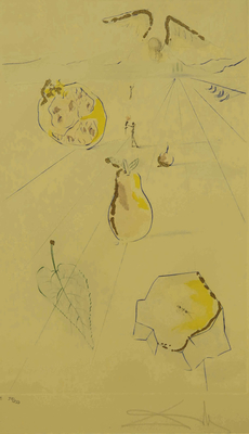 Salvador DALI - Les Fruits de la Vallée, 1971