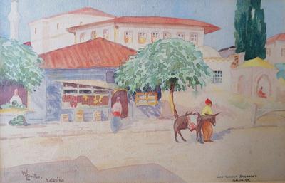 64 William L. BRITTON - Old Turkish Barracks, Salonika