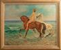 46 Alexandros ALEXANDRAKIS - Nude with horses by the sea