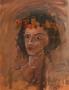 41.1 ANDREAS CHARALAMBIDES - Young woman with garland