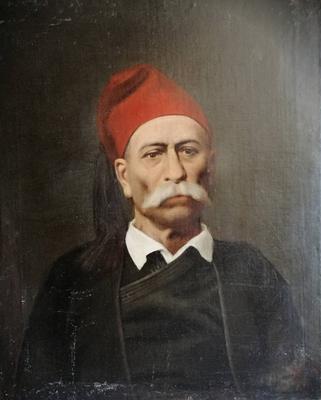 Georgios Corizis - portrait of a man